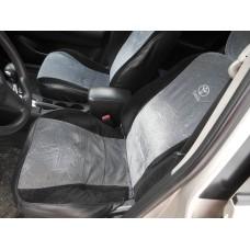 Сиденья передние с подогревом на Тойота Королла 120 кузов 2005 года европа